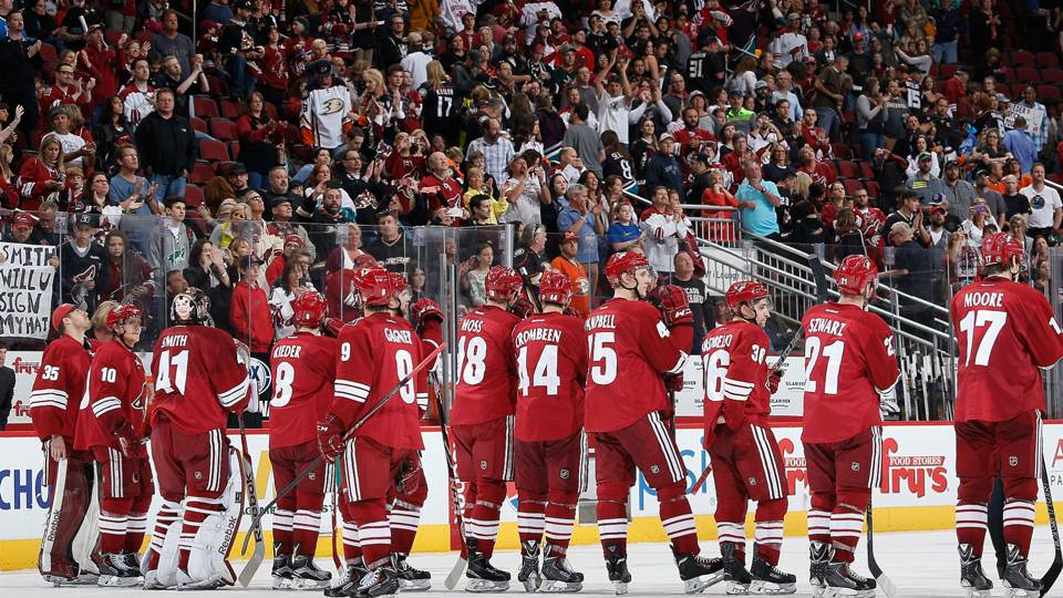 Nhl Coyotes Vehemently Deny Report Team Is Moving To Las Vegas