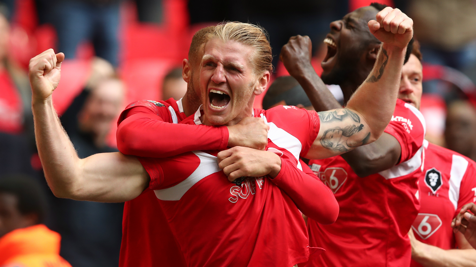 Salford City promoted to Football League for first time