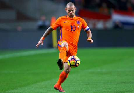 Sneijder not interested in Holland record