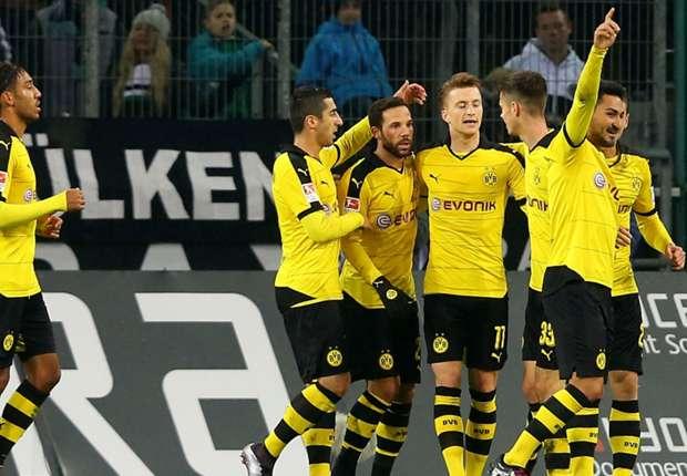 ไฮไลท์  Borussia Moenchengladbach 1 - 3 Borussia Dortmund