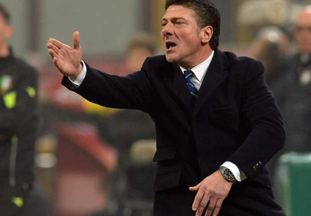 Inter were denied a clear penalty, fumes Mazzarri