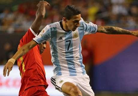 Argentina sweating over Di Maria