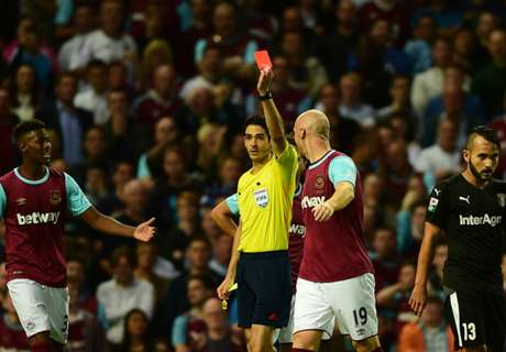 Bilic frustrated with red card