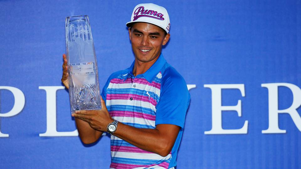 501ad66b5d1 Rickie Fowler wins The Players Championship after playoff