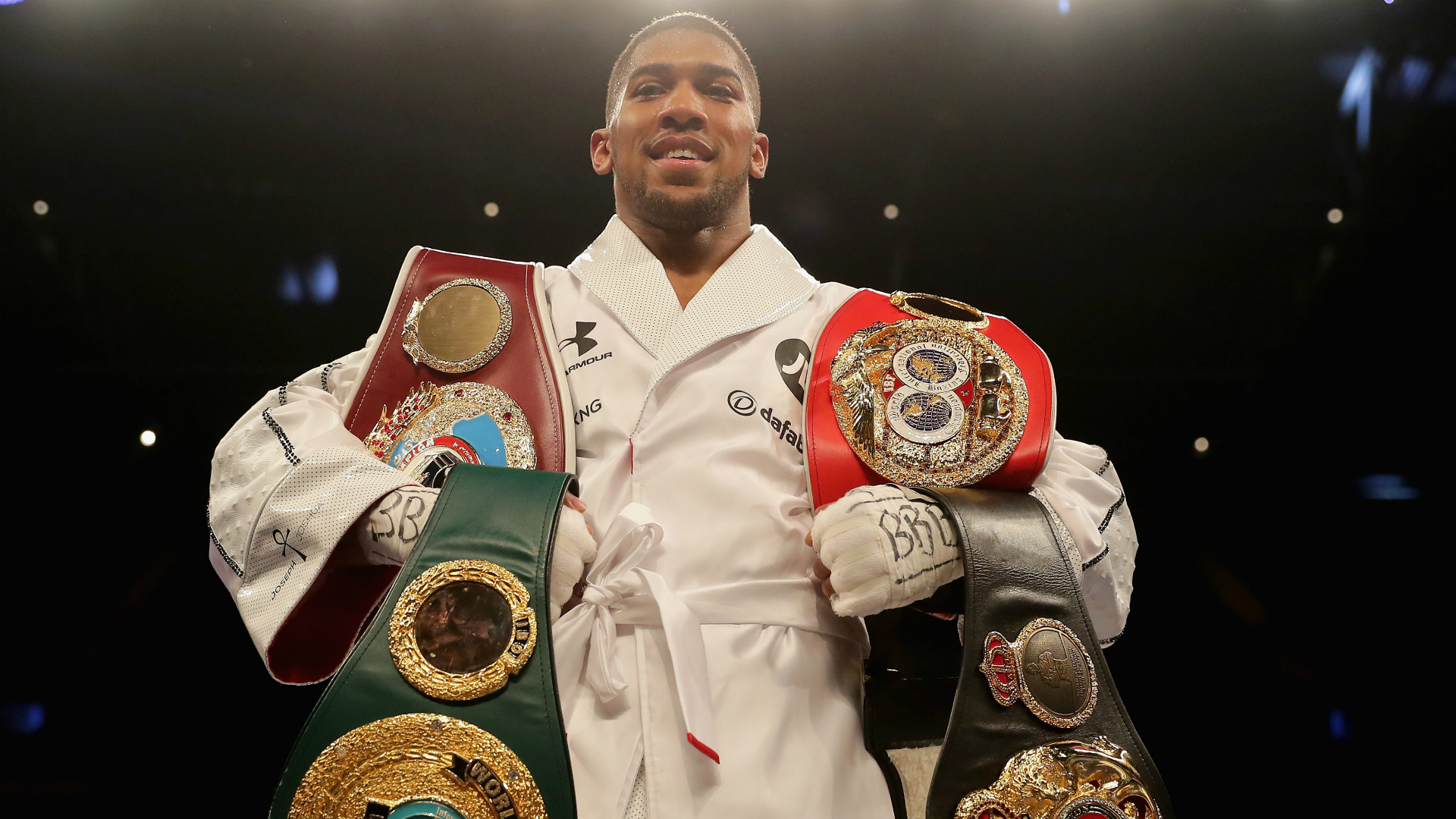 Anthony Joshua CERTAIN of Deontay Wilder fight after new talks