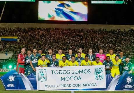 Chapecoense 2 Atletico Nacional 1