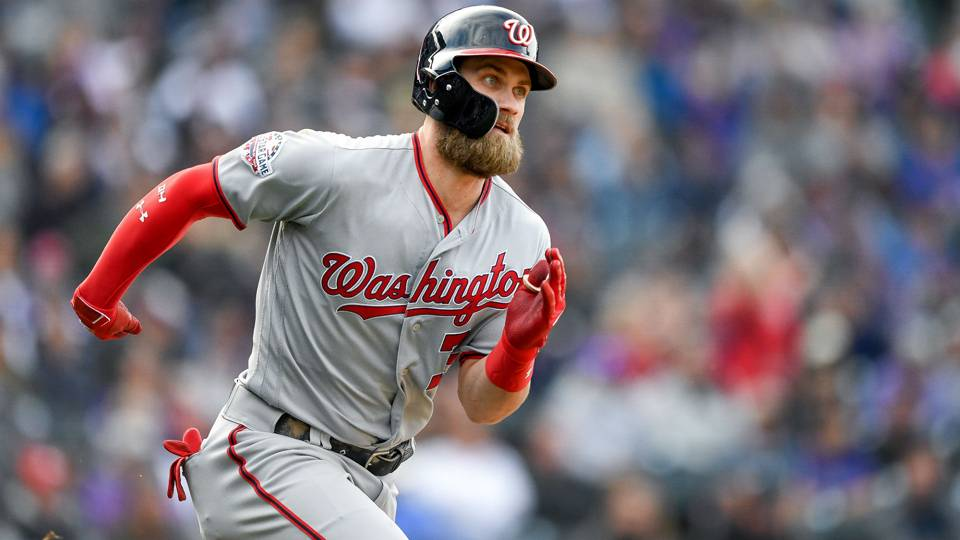 MLB hot stove  Dodgers pursuing Bryce Harper again  d612d0ac5f5