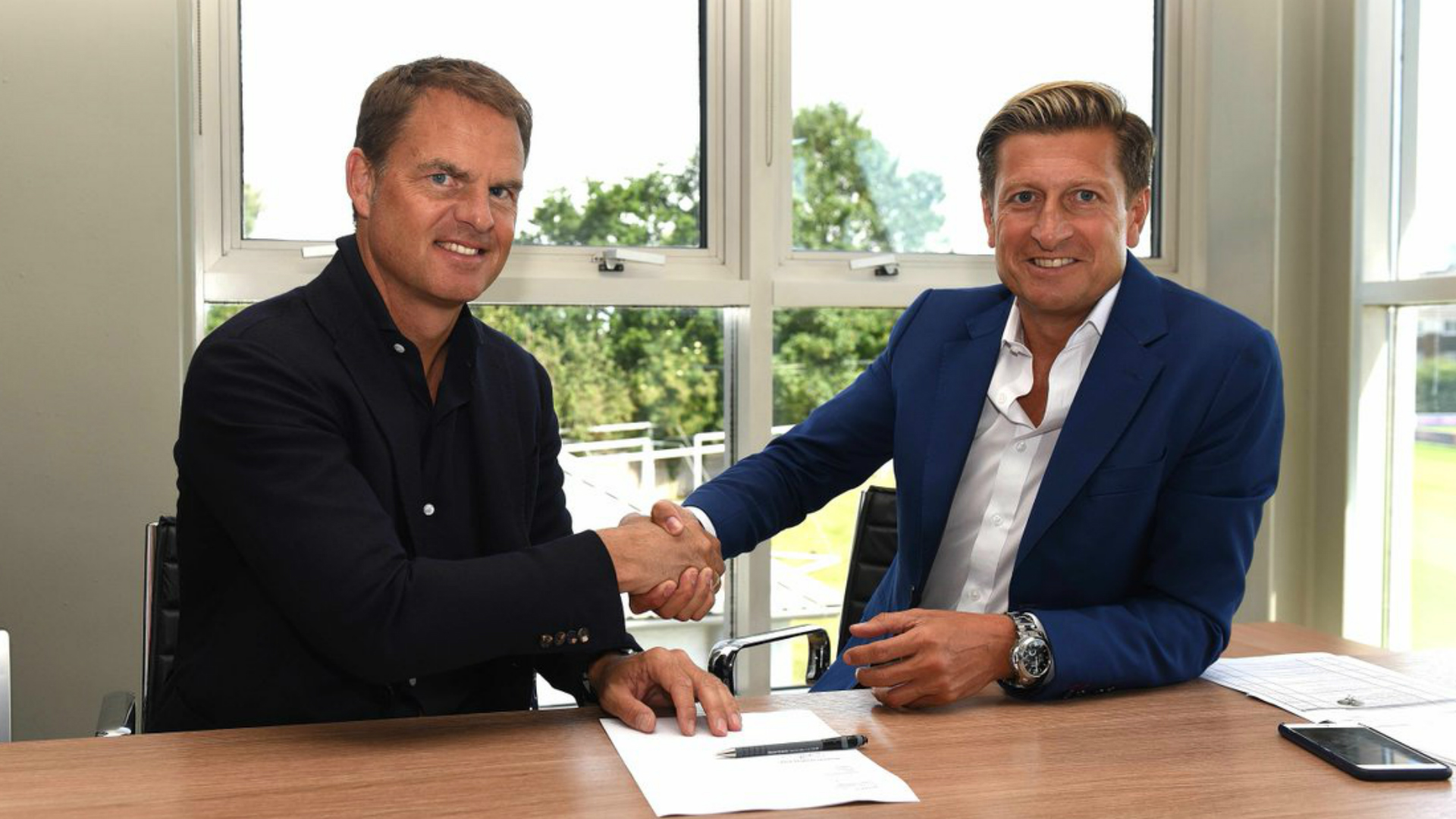 Crystal Palace make classic mistake with Frank/Ronald de Boer mix-up