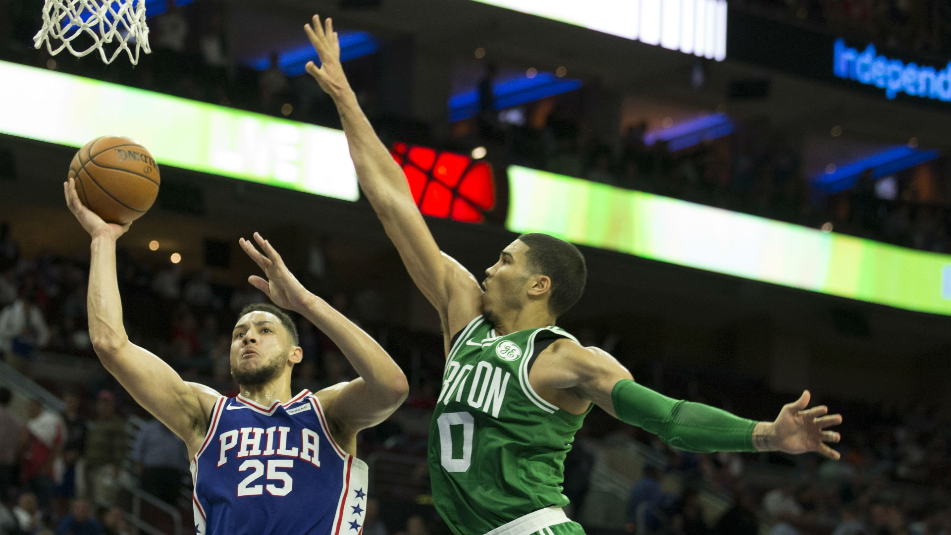 Celtics erase 22-point deficit to beat 76ers in London