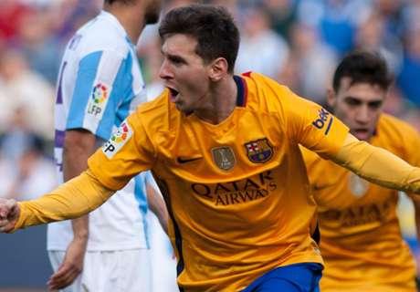 Malaga 1-2 Barca: Marvelous Messi