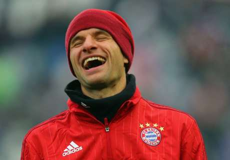 Muller amused by Bayern rift talk