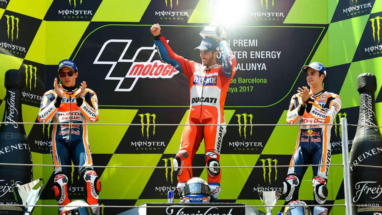 Dovizioso doubles down in Barcelona