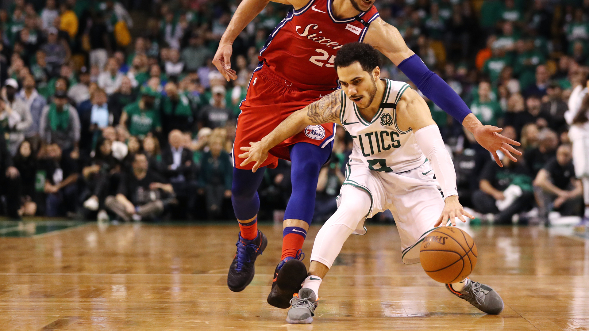 Shane Larkin Injury: Celtics Guard Won't Play In Game 5 Against Sixers