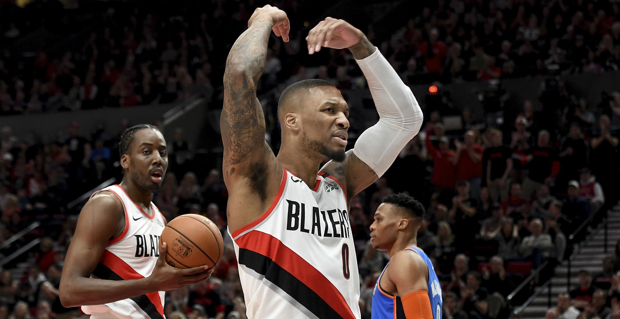 NBA playoffs wrap 2019: Celtics start strong; Trail Blazers hold off Thunder