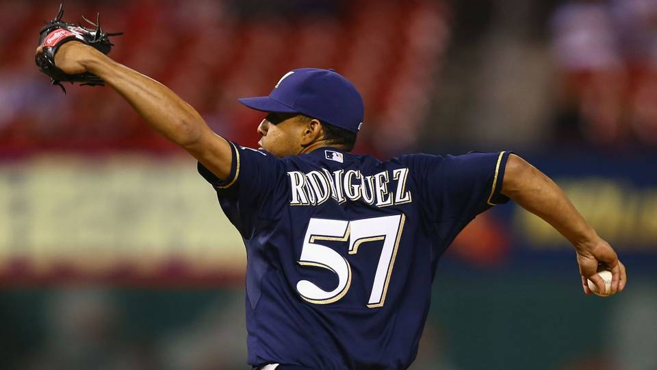 Brewers closer Francisco Rodriguez