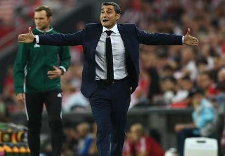 Valverde can't confirm Barca talks