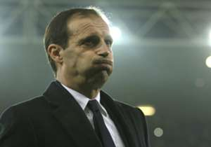 Juventus coach Massimiliano Allegri