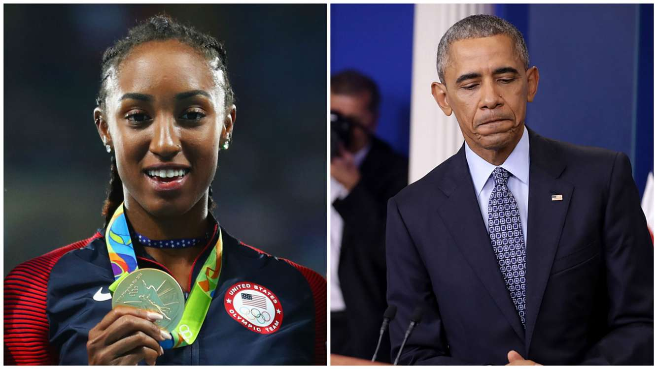 Brianna Rollins ban: White House visit with President Barack Obama contributed to Olympic champ's suspension
