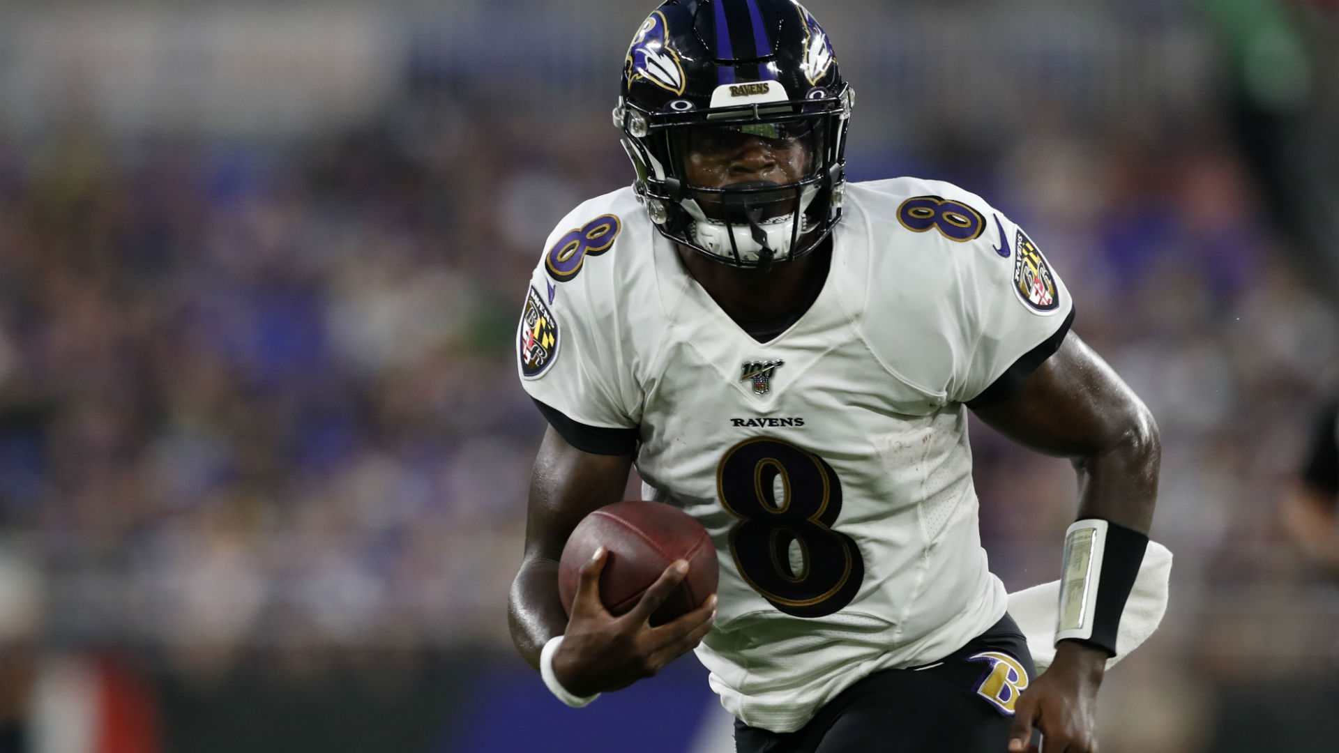Ravens' Lamar Jackson excited about throwing more touchdowns: 'I hate running'