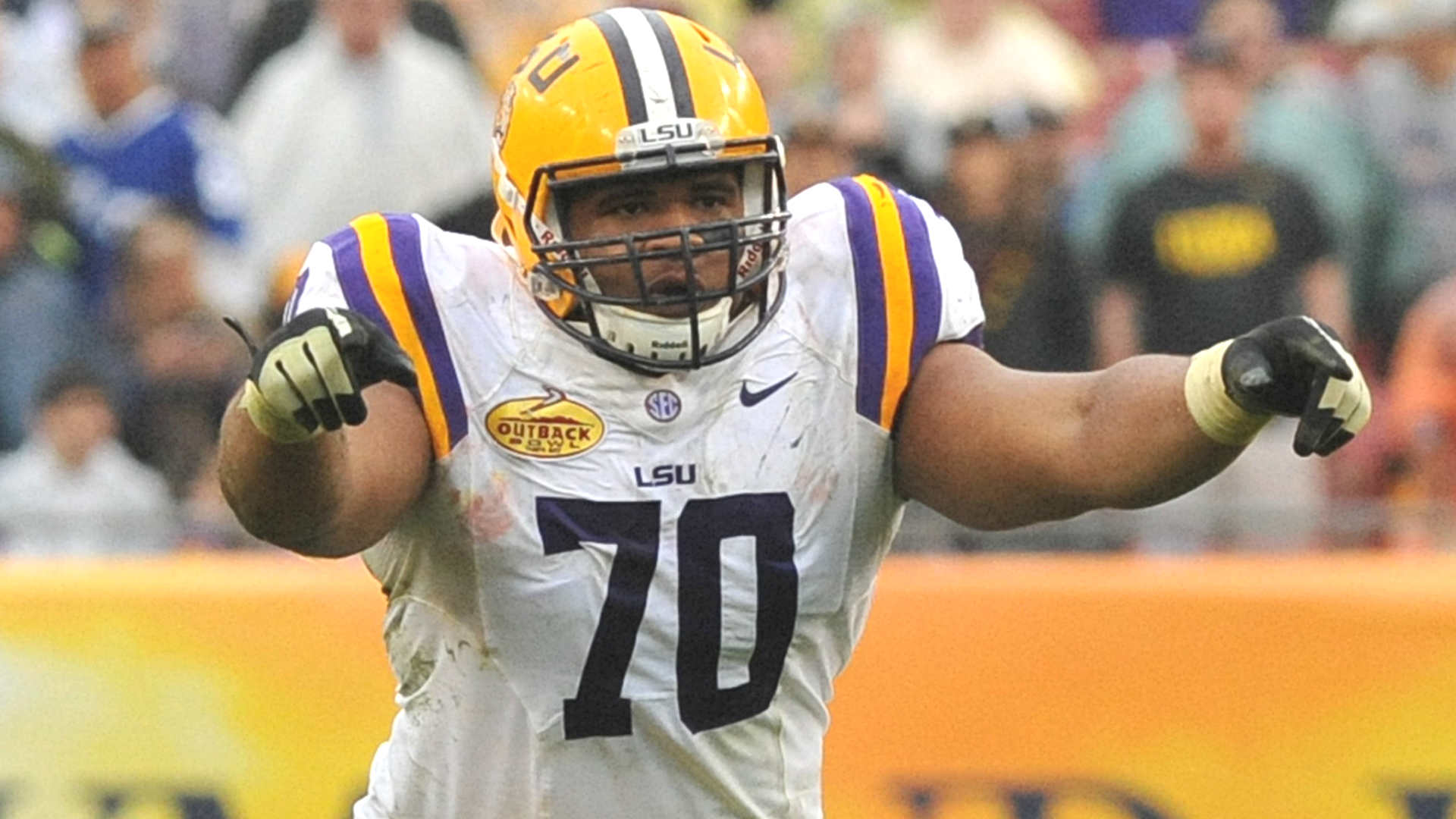 La'el Collins has first official visit scheduled with Cowboys