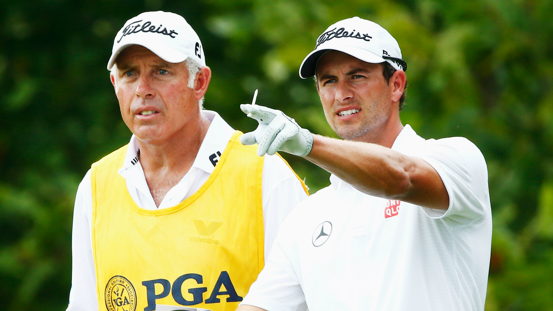 Steve Williams Adam Scott - Cropped