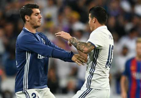Morata wants to play with James in 17/18