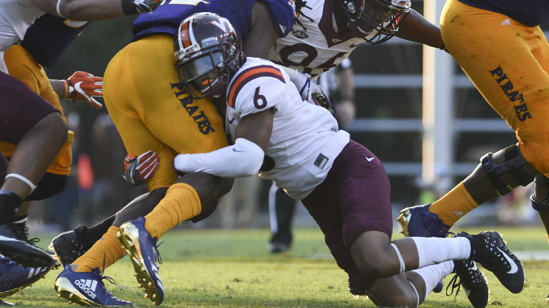 Virginia Tech dismisses Mook Reynolds, third starting DB lost this offseason