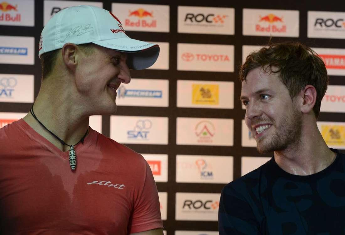 Schumacher: I hope Vettel beats my F1 title haul