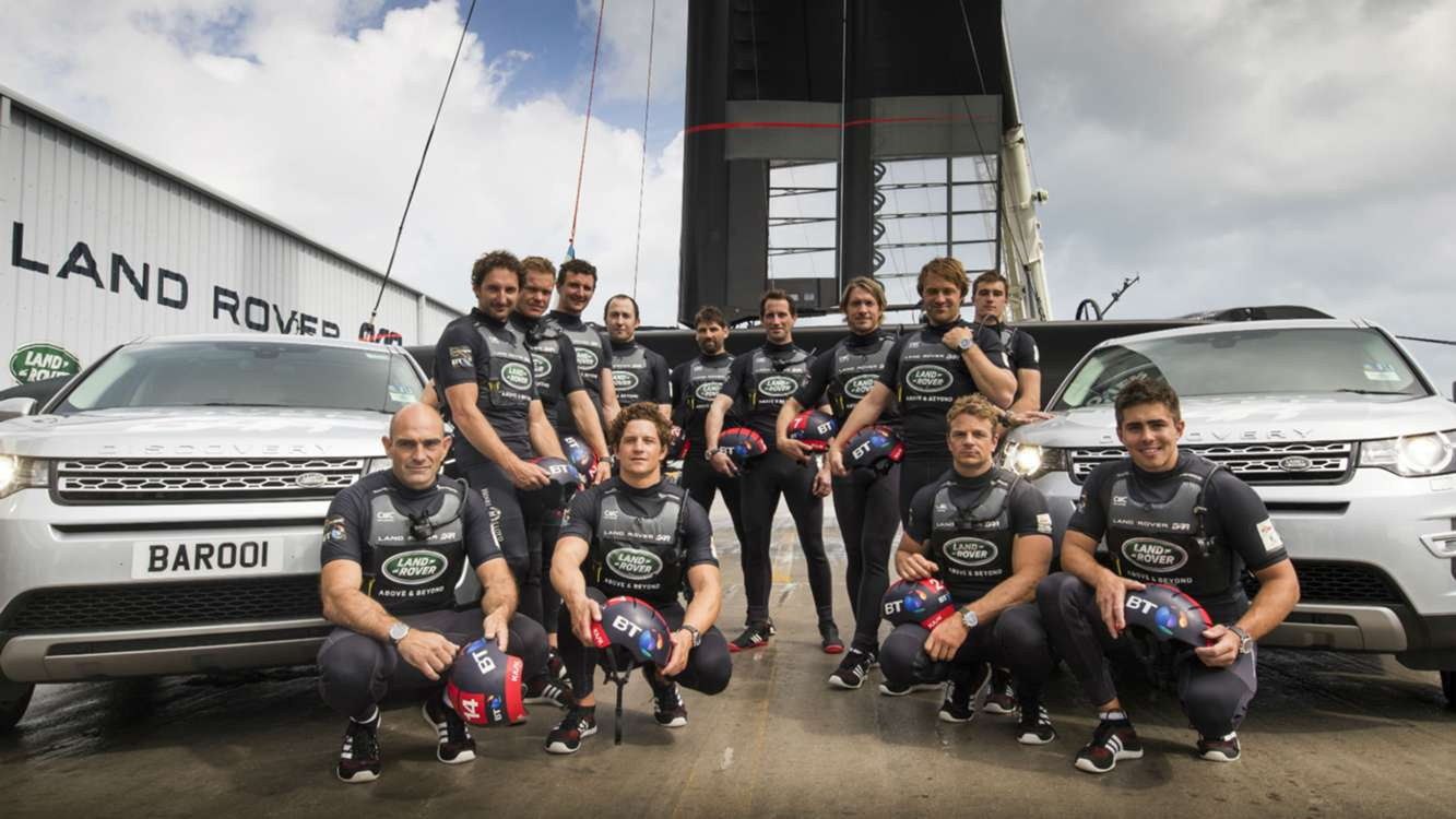 Ainslie reveals America's Cup boat