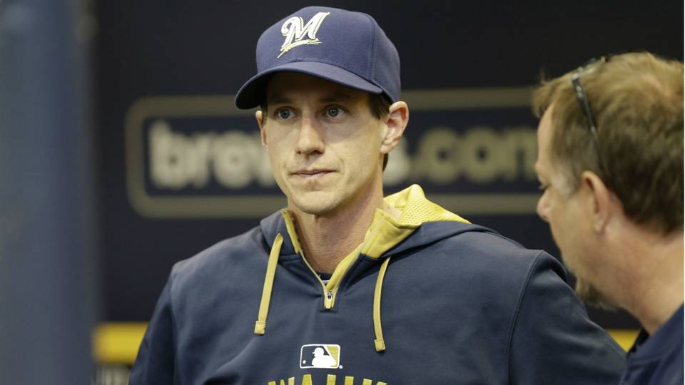 Brewers manager Craig Counsell