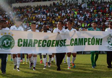 Chapecoense confirmed as champions