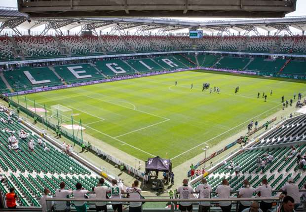 Hier steigt Legias Heimspiel gegen die Pats: Die Pepsi Arena in Warschau
