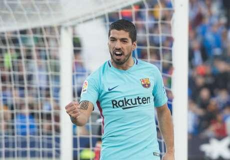 Barcelona wint, Suarez scoort eindelijk weer