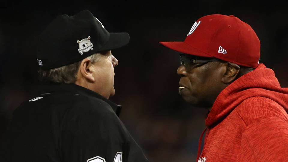 Jerry Layne (left) and Dusty Baker (right)