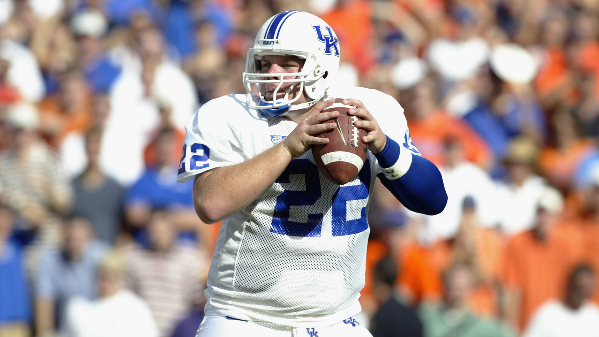 Former NFL, Kentucky QB Jared Lorenzen getting fit after topping 500 pounds