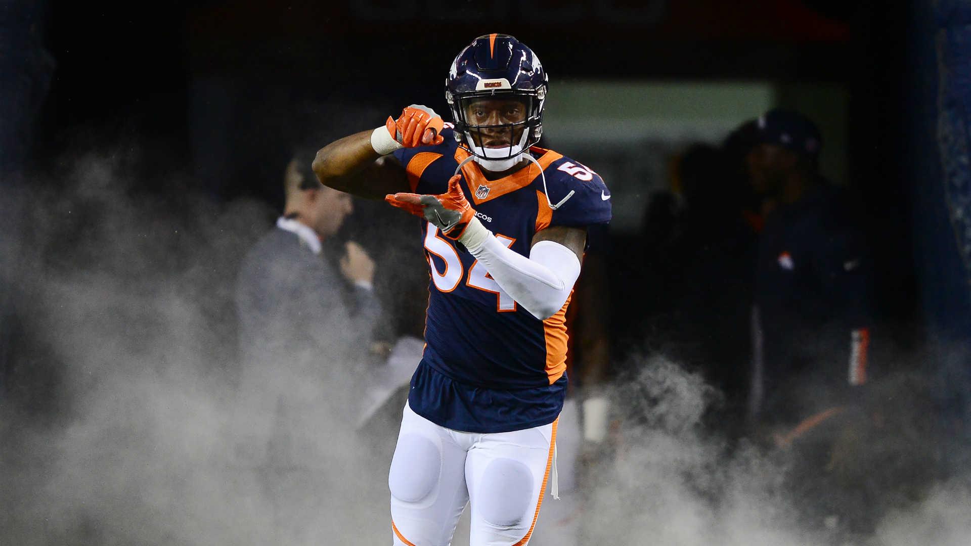 Broncos won't exercise LB Brandon Marshall's option, reports say