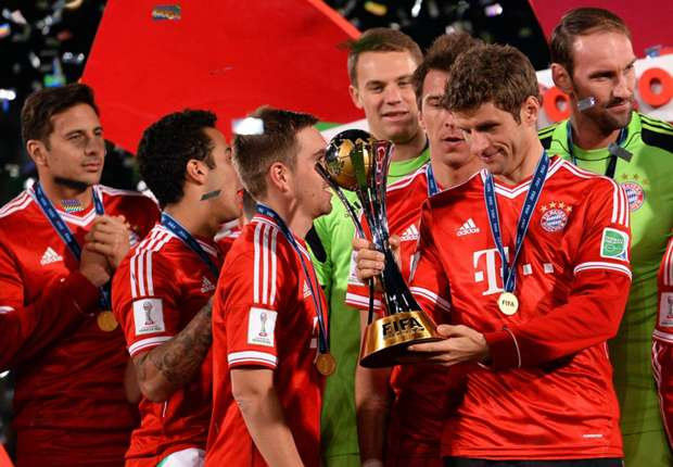 Vreugde in Bayern-kamp na vijfde hoofdprijs in 2013