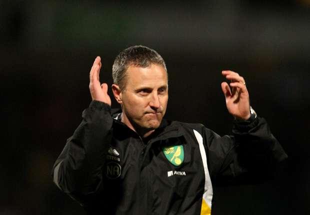 Neil Adams relishing relegation battle with Norwich