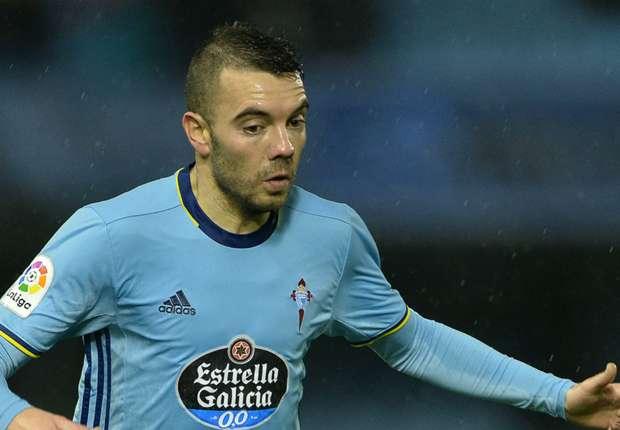 Celta Vigo forward Iago Aspas