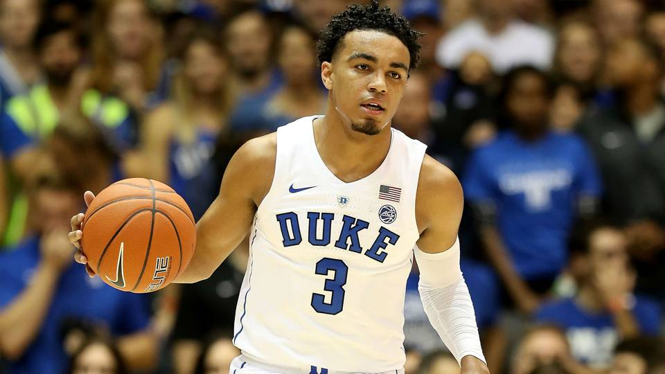 Duke guard Tre Jones out indefinitely after suffering ...