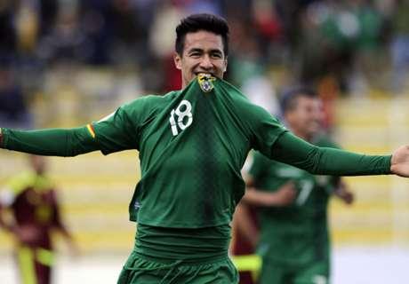 Bolivia 4-2 Venezuela: Losing run ends