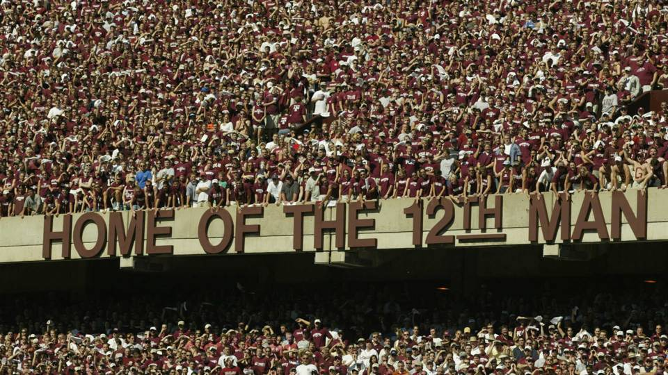 Texas A&M's Kyle Field