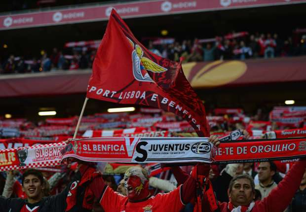 Supporters of Benfica