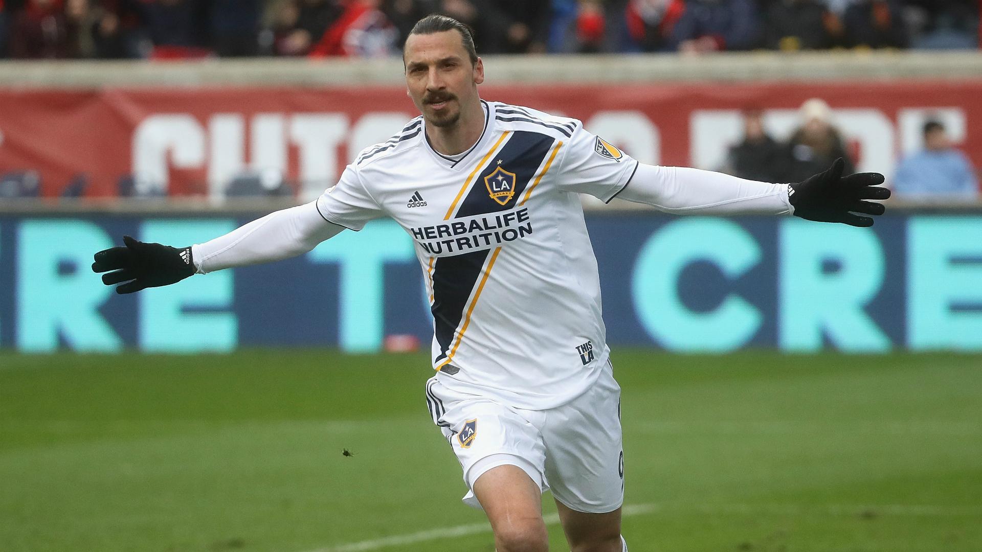 Soccer star Zlatan Ibrahimovic welcomes LeBron to LA: 'Now LA has a God and a King'