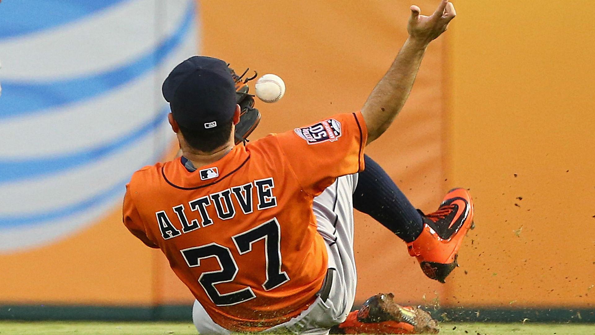 Astros second baseman Jose Altuve