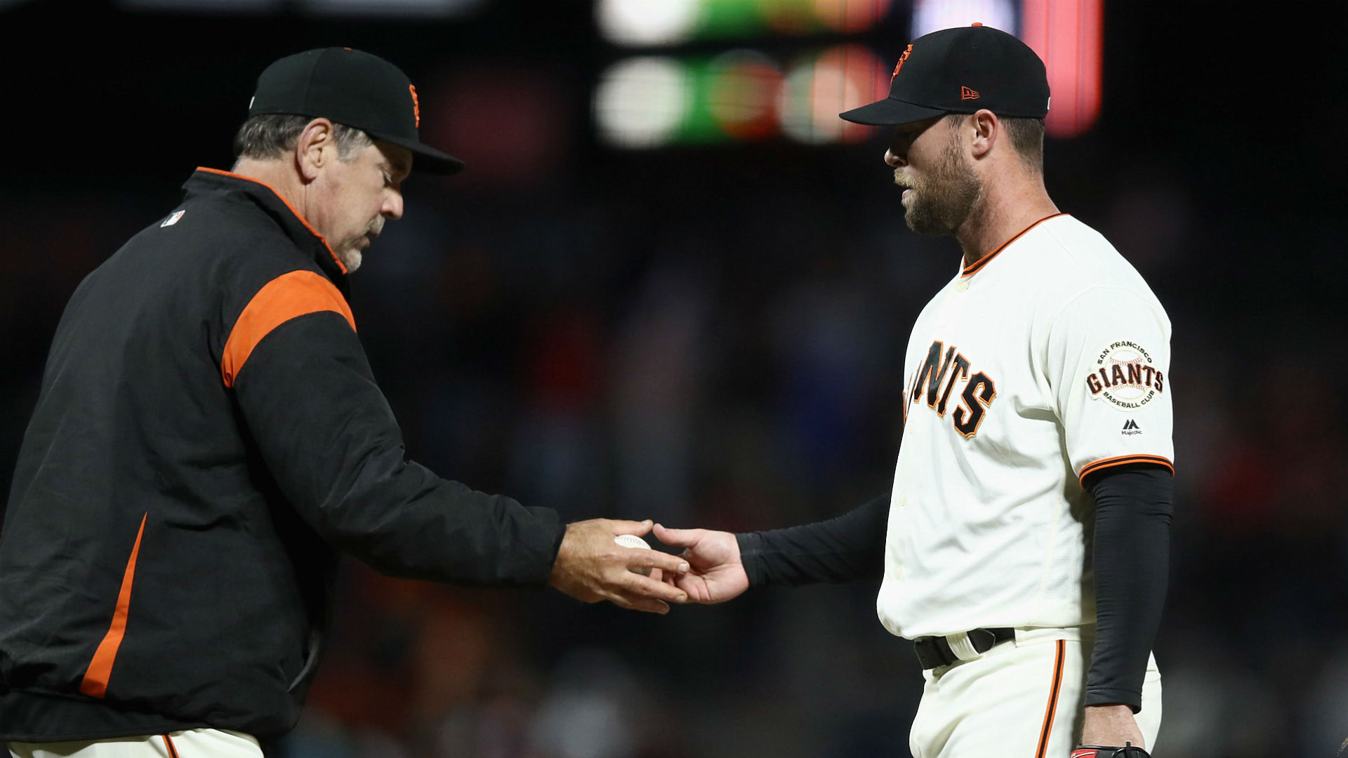Giants' Strickland to miss at least two months