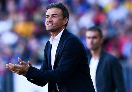 Luis Enrique lauds 'perfect' Barca