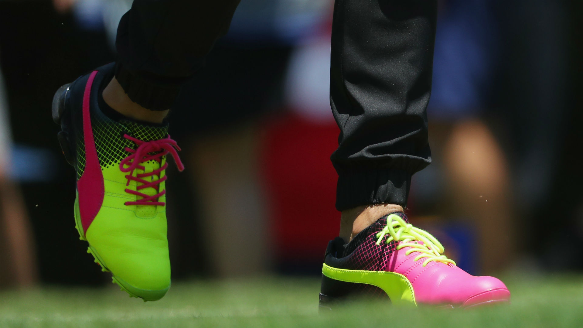 Rickie Fowler wears neon shoes at The Players Championship   Golf   Sporting News