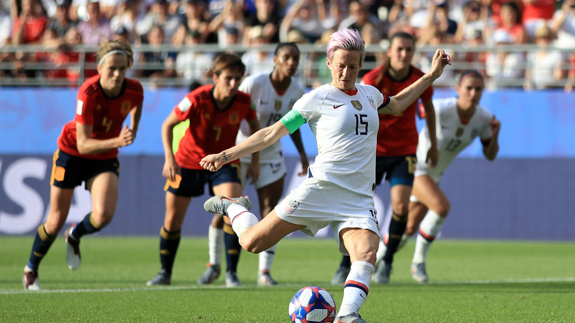 Women's World Cup 2019: USA's Megan Rapinoe scores twice to advance to France quarterfinal