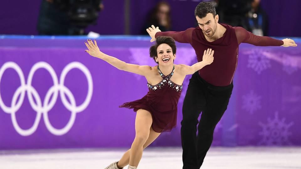 olympic pairs skating video